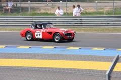 Oldtimer-Le Mans-Stromkreis Stockbilder