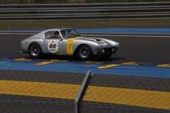 Oldtimer-Le Mans-Stromkreis Stockbild
