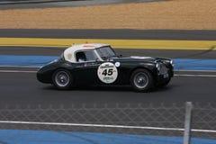 Oldtimer-Le Mans-Stromkreis Stockfotografie