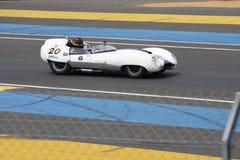 Oldtimer-Le Mans-Stromkreis Stockfoto