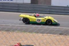 Oldtimer-Le Mans-Stromkreis Lizenzfreie Stockfotografie