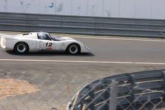 Oldtimer-Le Mans-Stromkreis Lizenzfreies Stockbild