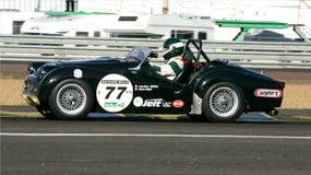 Oldtimer-Le Mans-Stromkreis Lizenzfreies Stockfoto