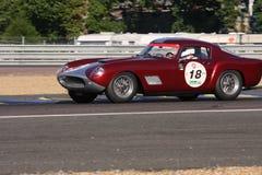 Oldtimer-Le Mans-Stromkreis Stockfotos