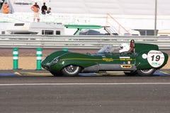 Oldtimer-Le Mans-Stromkreis Lizenzfreie Stockbilder