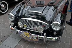 Oldtimer Rally 2014 - Austi Healey Royalty Free Stock Photo
