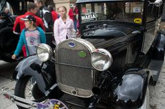 Oldtimer Rally 2014 - FORD model A Stock Photography