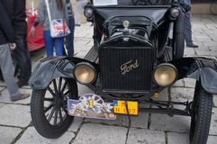 Oldtimer Rally 2014 - FORD T Royalty Free Stock Images