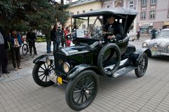 Oldtimer Rally 2014 - FORD T Stock Images