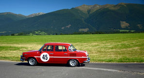 Oldtimer Rally -Skoda 1000 MB - 1968 Stock Photos