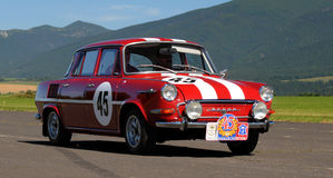 Oldtimer Rally -Skoda 1000 MB - 1968 Stock Images