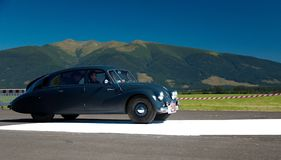 Oldtimer Rally - Tatra 87 , 1940 Stock Images