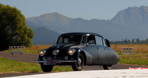 Oldtimer Rally - Tatra 87 , 1940 Stock Photo