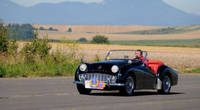 Oldtimer Rally - Triumph TR 3A, 1958 Stock Photography