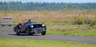 Oldtimer Rally - Triumph TR 3A, 1958 Royalty Free Stock Photo
