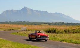 Oldtimer Rally -Wartburg HT 312 Coupe 1965. Oldtimer Rallye Tatry 2011 - Slovakia 21.08.2011 Stock Photos