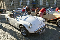 Oldtimer Roadster at the OldtimerCity 2011 in Frankfurt am Main Stock Image