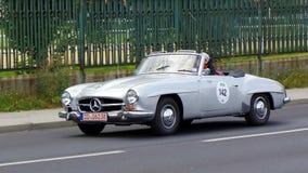Oldtimer, Sachsen-Klassiker 2014 Lizenzfreies Stockfoto