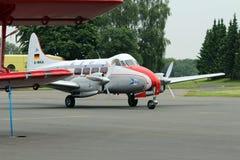 Oldtimer samolot przy lotniskowym essen obrazy stock