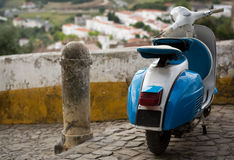 Oldtimer scooter Stock Photography