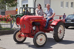 Oldtimer Show Royalty Free Stock Photography