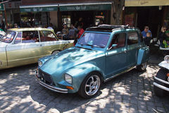 Oldtimer Show Skopje 2016. SKOPJE MACEDONIA - MAY 07 2016: Old Citroen on 11th Old Timer Car Show, May 07, 2016 in Skopje. The event organized by Euroimpex from Stock Photo