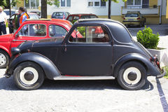 Oldtimer Show Skopje 2016. SKOPJE MACEDONIA - MAY 07 2016: Old Fiat Topolino on 11th Old Timer Car Show, May 07, 2016 in Skopje. The event organized by Euroimpex Stock Photos