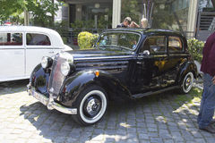 Oldtimer Show Skopje 2016. SKOPJE MACEDONIA - MAY 07 2016: Old Mercedes on 11th Old Timer Car Show, May 07, 2016 in Skopje. The event organized by Euroimpex from Stock Photos