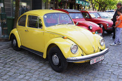Oldtimer Show Skopje 2016. SKOPJE MACEDONIA - MAY 07 2016: Old Volkswagen on 11th Old Timer Car Show, May 07, 2016 in Skopje. The event organized by Euroimpex Stock Photos