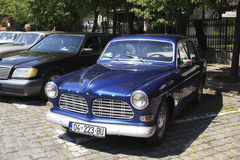 Oldtimer Show Skopje 2016. SKOPJE MACEDONIA - MAY 07 2016: Old Volvo on 11th Old Timer Car Show, May 07, 2016 in Skopje. The event organized by Euroimpex from Stock Images