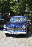 Oldtimer Show Skopje 2016. SKOPJE MACEDONIA - MAY 07 2016: Old Volvo on 11th Old Timer Car Show, May 07, 2016 in Skopje. The event organized by Euroimpex from Stock Photography