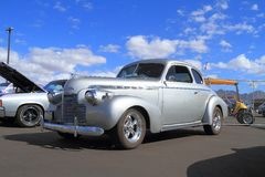 Oldtimer: 1940 Speciale Luxe van Chevrolet Stock Foto