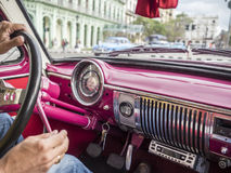 Oldtimer Tour in Havanna Royalty Free Stock Images