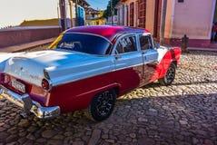 Oldtimer, Trinidad, Cuba Stock Image