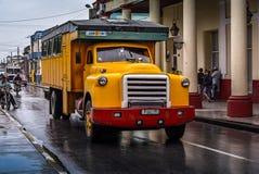 Oldtimer Truck, Holguin, Cuba Stock Photos