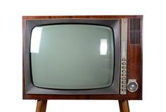 Oldtimer TV Fotografie Stock Libere da Diritti