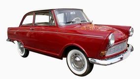 Oldtimer vermelho Fotografia de Stock Royalty Free