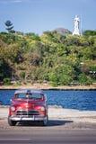Oldtimer, vintage classic american car in Havana Stock Image