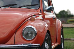 Oldtimer VW bug - RAW format Royalty Free Stock Images