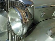 Oldtimer-Weinlese-klassisches britisches Auto Lizenzfreies Stockbild