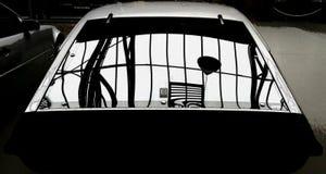 Oldtimer. Window shadow Stock Photography