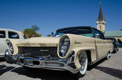 Oldtimerauto van Lincoln Continental 1958 Stock Afbeelding