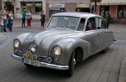 Oldtimeren samlar 2014 - Tatra 87, 1940 Arkivbilder