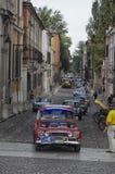 Oldtimerlaufen das Nuvolari Grandprix Stockfoto