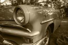 Oldtimers au Cuba Images libres de droits