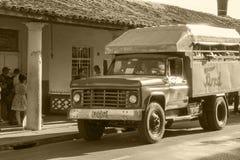 Oldtimers in Cuba Royalty-vrije Stock Afbeeldingen