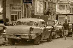 Oldtimers in Cuba Stock Image