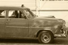 Oldtimers in Cuba Stock Photography