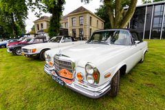 Oldtimers dehors Photo stock