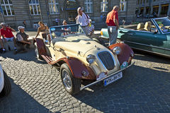 Oldtimers at the Hauptwache Royalty Free Stock Photos